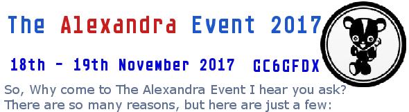 Why Alex 2017